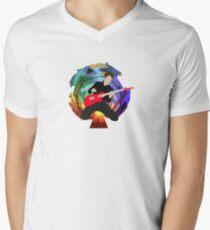 Matt Bellamy of Muse (smaller) Men's V-Neck T-Shirt