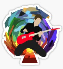 Matt Bellamy of Muse (smaller) Sticker