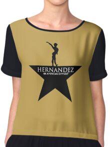 HERNANDEZ: AN AMERICAN GYMNAST Chiffon Top