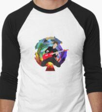 Matt Bellamy of Muse (bigger) Men's Baseball ¾ T-Shirt