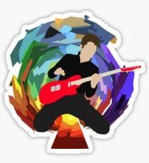Matt Bellamy of Muse (bigger) Sticker