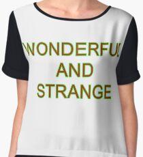 Wonderful and Strange Twin Peaks Women's Chiffon Top