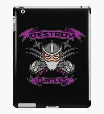 Destroy Turtles iPad Case/Skin