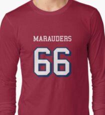 Marauders 66 Red Jersey Long Sleeve T-Shirt