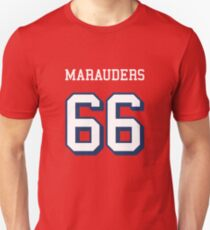 Marauders 66 Red Jersey Unisex T-Shirt