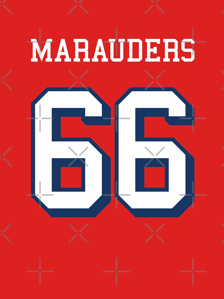 Marauders 66 Red Jersey by madeinsask