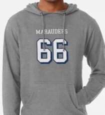 Marauders 66 Red Jersey Lightweight Hoodie