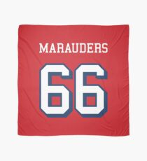 Marauders 66 Red Jersey Scarf
