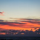 Morning Sky Above Atlantic Ocean   Fire Island, New York by © Sophie W. Smith