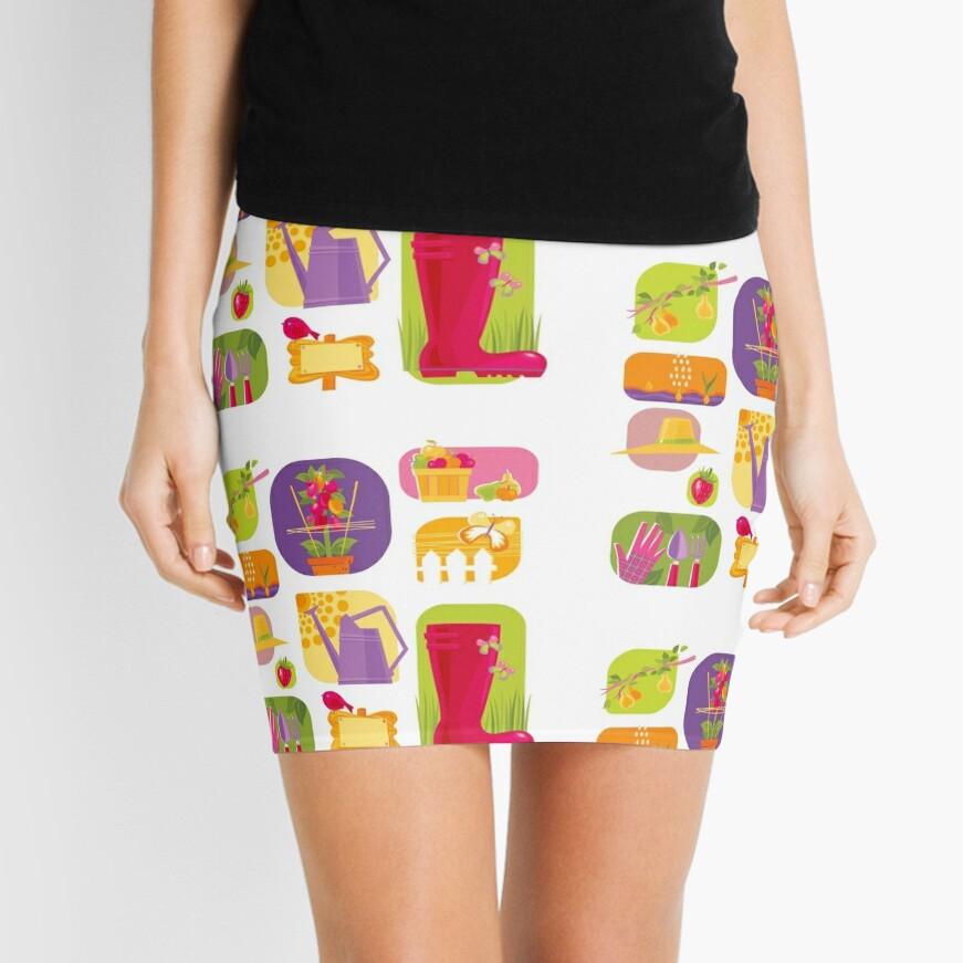 Summer Farm Mini Skirt