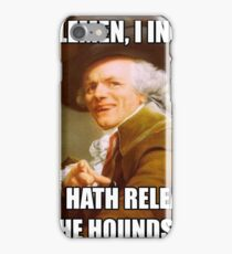 Who Let the Dogs Out DUCREAUX MEME iPhone Case/Skin