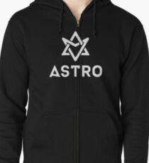 Astro - Logo Zipped Hoodie