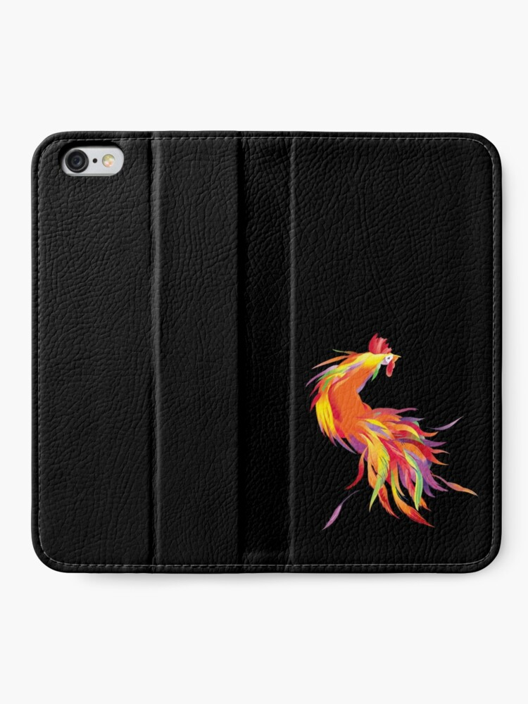 Alternate view of Red Cock iPhone Wallet
