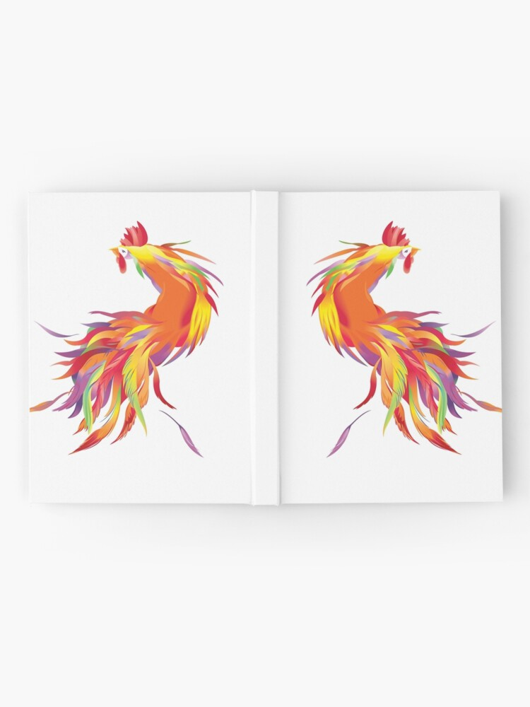 Alternate view of Red Cock Hardcover Journal