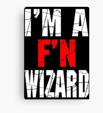 F'N Wizard Canvas Print