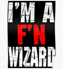 F'N Wizard Poster