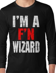 F'N Wizard Long Sleeve T-Shirt