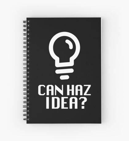 Can Haz Idea? Spiral Notebook