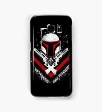 Boba Fett - Only Promises Samsung Galaxy Case/Skin