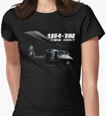 UH-1N Twin Huey Women's Fitted T-Shirt