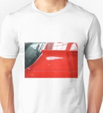Red car detail of windscreen and hood T-Shirt