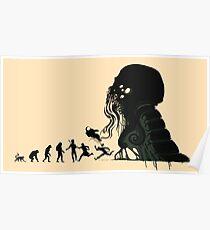Lovecraft Darvinian Poster