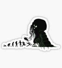 Lovecraft Darvinian Sticker
