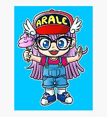 Arale - Dr. Slump Photographic Print