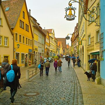 Rothenburg ob der Tauber 1 by PriscillaTurner