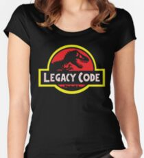 Legacy Code Women's Fitted Scoop T-Shirt