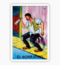 Loteria: El Borracho Sticker