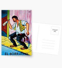 Loteria: El Borracho Postcards