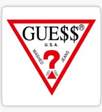 Guess x A$AP Rocky Sticker