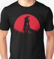 Red Moon Renamon Fox Animal Digital Monster T-Shirt