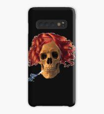 skull, cigarette, death, smoking kills Case/Skin for Samsung Galaxy
