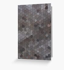 MOSAIC PATTERN COVERS AND CASES Greeting Card