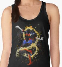 Abtract Sailor Moon Women's Tank Top