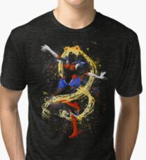 Abtract Sailor Moon Tri-blend T-Shirt