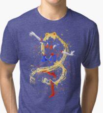 Abtract Sailor Moon Tri-blend T-Shirt