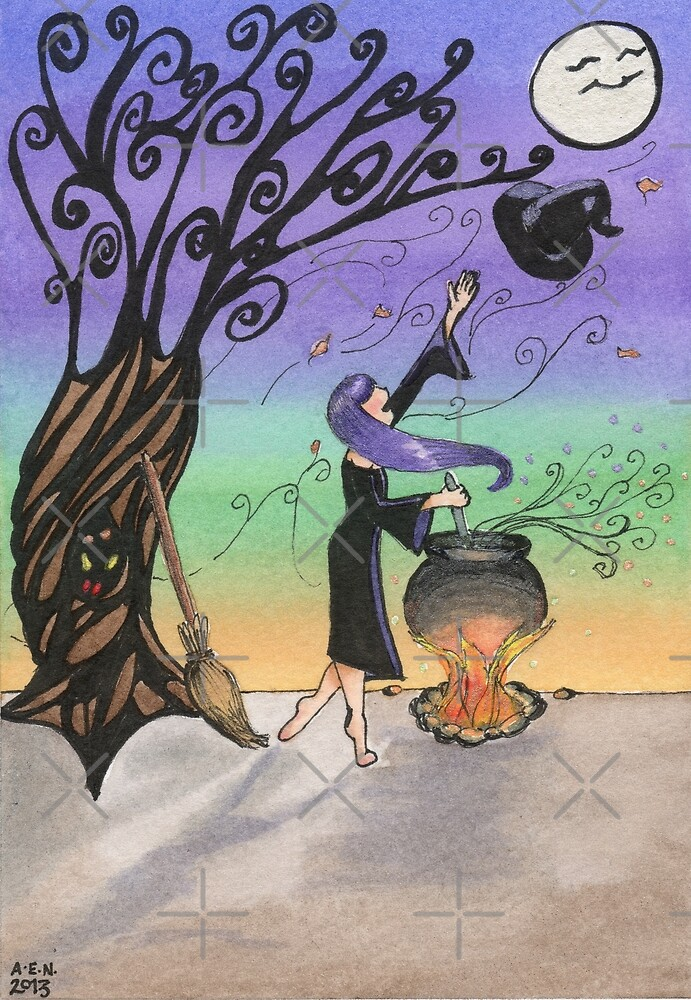 A Windy Spell by Amy-Elyse Neer