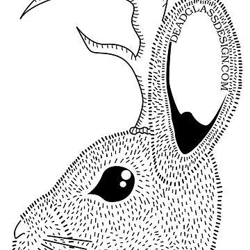 Jackalope by deadglassdesign