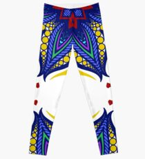 Mandala tribal ethnic ornament Leggings