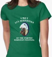 I Met Lil Sebastian Womens Fitted T-Shirt