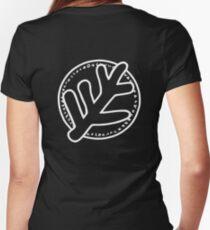 Elder Sign Women's Fitted V-Neck T-Shirt