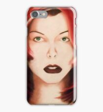 Milla - Red Hair iPhone Case/Skin