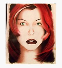 Milla - Red Hair Photographic Print