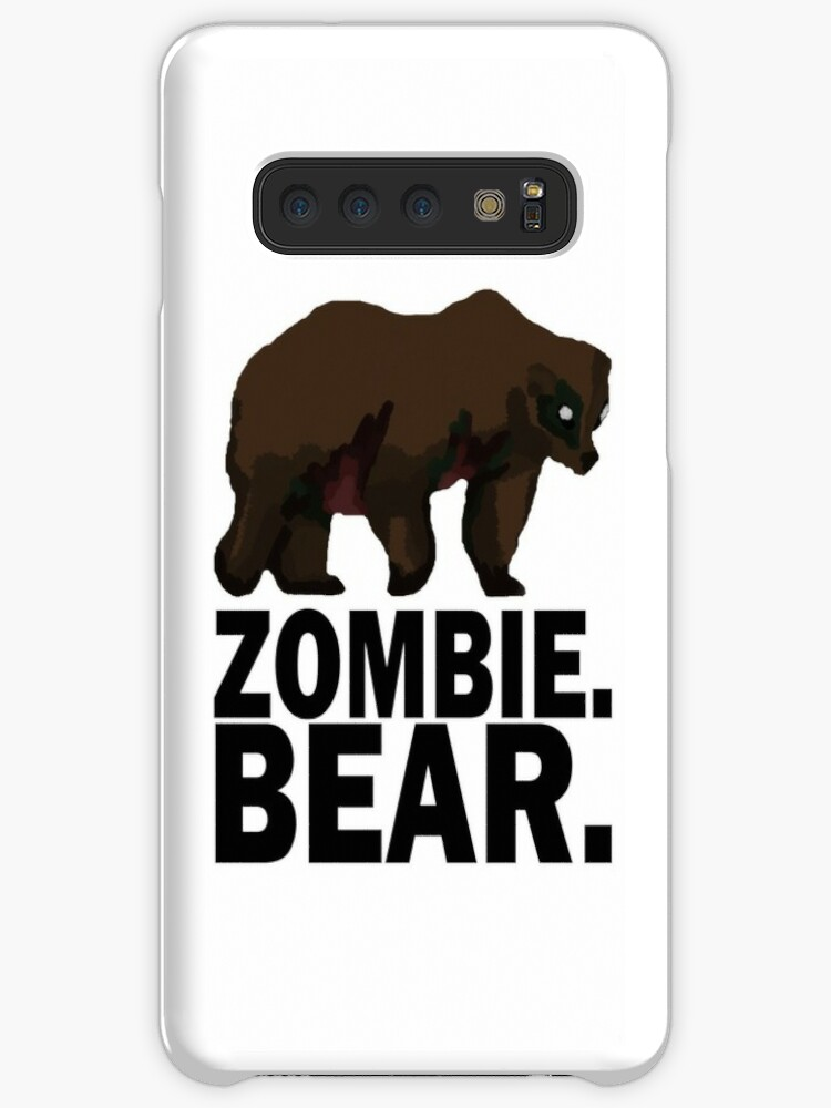 Z Nation Zombie Bear Cases Skins For Samsung Galaxy By