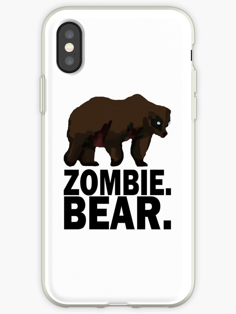 Z Nation Zombie Bear Iphone Cases Covers By Tempestaurora