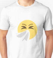 Sneezing Emoji T-Shirt