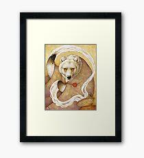 Healing Bear Framed Print
